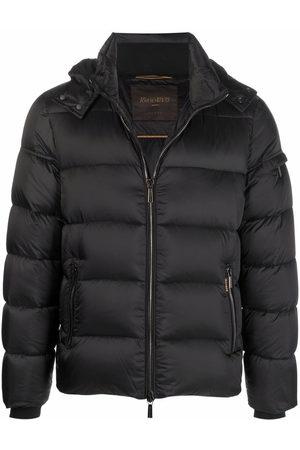 MOORER Zip-up puffer jacket