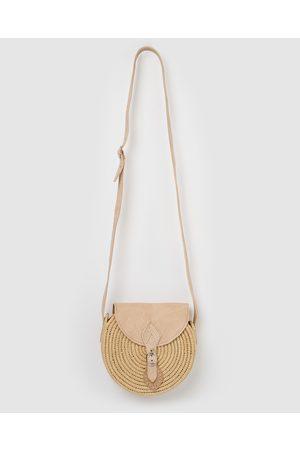 Miz Casa and Co Grace Woven Crossbody Bag - Beach Bags (Natural) Grace Woven Crossbody Bag