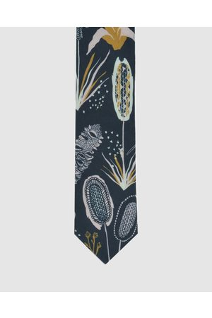 Peggy and Finn Coastal Flora Tie - Ties (Navy) Coastal Flora Tie
