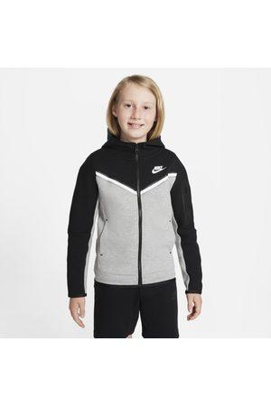 Nike Boys Sweatshirts - Sportswear Tech Fleece Older Kids' (Boys') Full-Zip Hoodie