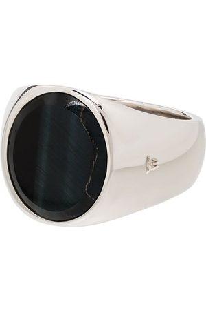 TOM WOOD Sterling hawk's eye ring