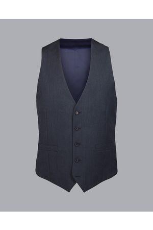 Charles Tyrwhitt Herrigboe Busiess Suit Wool Waistcoat - Dark Airforce Size w36 by Charles Tyrwhitt