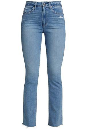 Paige Femme Mini-Flare Jeans