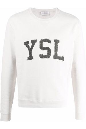 Saint Laurent Logo-print sweatshirt