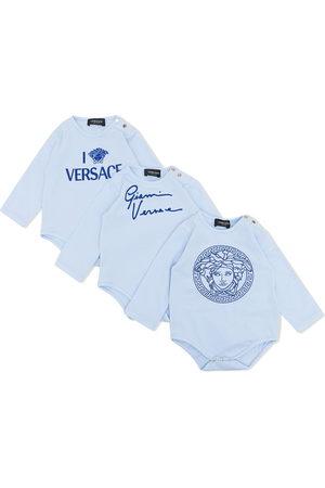 VERSACE Bodysuits & All-In-Ones - Three-piece babygrow set