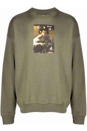 OFF-WHITE Men Sweatshirts - Caravaggio painting sweatshirt