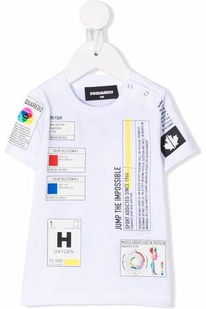 Dsquared2 Short Sleeve - Patch-detail short-sleeved T-shirt
