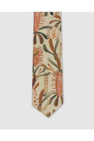 Peggy and Finn Grass Tree Tie - Ties (Nude) Grass Tree Tie