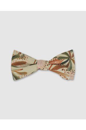 Peggy and Finn Grass Tree Bow Tie - Ties & Cufflinks (Nude) Grass Tree Bow Tie