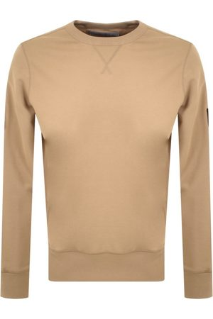 Calvin Klein Men Sweatshirts - Jeans Crew Neck Logo Sweatshirt