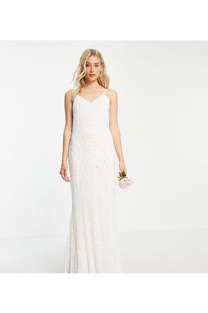 Virgos Tall Bridal embellished cami dress in
