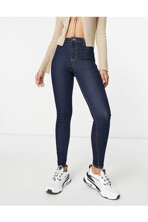 Topshop Women Boyfriend - Recycled cotton blend Joni jeans in indigo