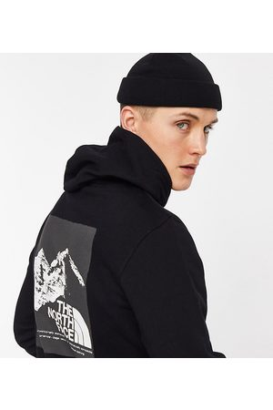 The North Face Men Hoodies - Faces Graphic hoodie in black Exclusive to ASOS