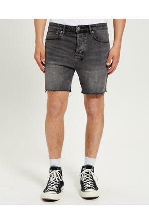 KSUBI Men Short Sleeve - Dagger Dan Denim Shorts Maniac