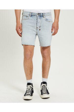 KSUBI Men Shirts - Dagger Dan Denim Shorts Muse Light