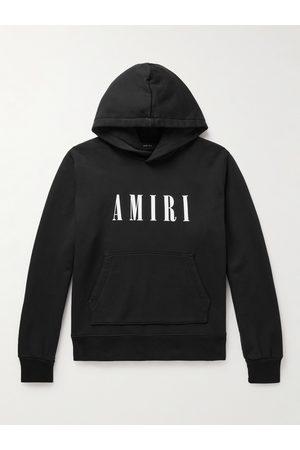 AMIRI Men Hoodies - Logo-Print Cotton-Jersey Hoodie