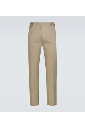 Dolce & Gabbana Men Chinos - Stretch-cotton pants