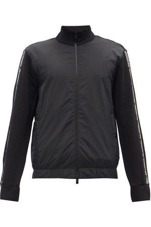 Moncler Men Outdoor Jackets - Logo-tape Cotton-jersey Track Jacket - Mens