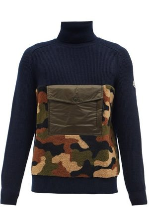 YMC Lambswool Sweater - Mens - Navy