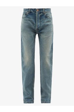 Balenciaga Women Boyfriend - High-rise Straight-leg Jeans - Womens - Light Denim
