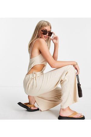 Missguided Women Jumpsuits - Jumpsuit with cut-outs in -Neutral