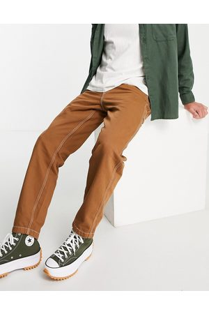 Levi's Tapered fit carpenter jeans in brown
