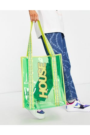 House of Holland Pvc tote in