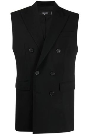 Dsquared2 Double-Breasted Tailored Gilet