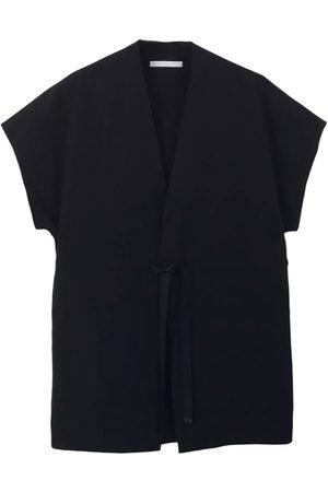 BARBARA ALAN Men Waistcoats - Belted Long Waistcoat