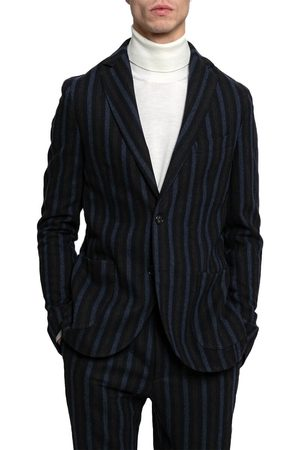 Beaucoup Striped Fitted Blazer