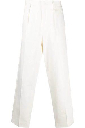 GCDS Men Straight - Mid-Rise Straight-Leg Trousers
