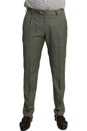 Blu Briglia Khaki Mid-Rise Slim Chinos