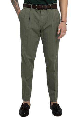 Blu Briglia Straight-Leg Chino Trousers/