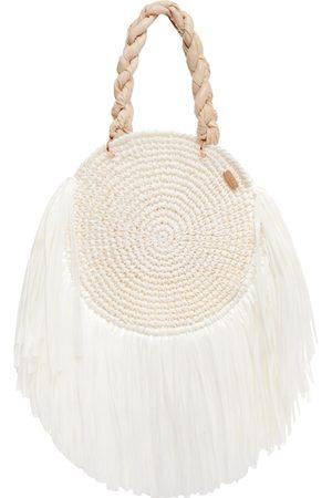 White Tulum Beach Bag