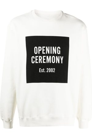 Opening Ceremony Men Sweatshirts - Box-logo sweatshirt