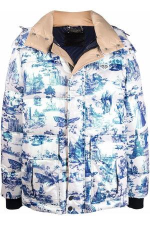 Philipp Plein Padded zip-up jacket