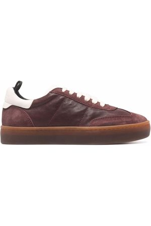 Officine creative Women Sneakers - Panelled low-top leather sneakers