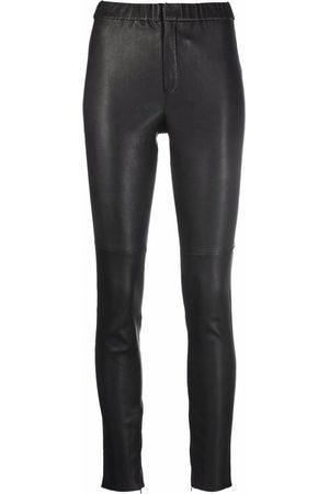 Isabel Marant Iany leather high-waist leggings