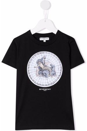 Givenchy Short Sleeve - Poseidon print T-shirt
