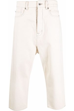 Rick Owens Straight leg cropped jeans