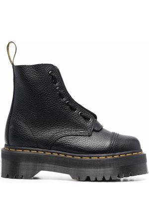 Dr. Martens Women Heeled Boots - Sinclair leather platform boots