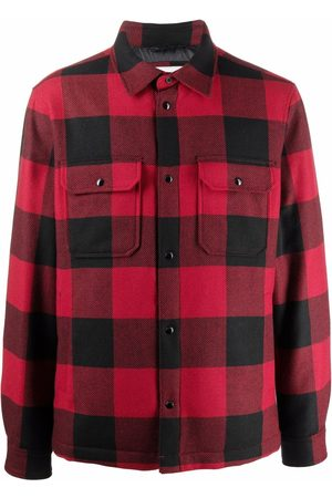 Woolrich Plaid-check padded jacket