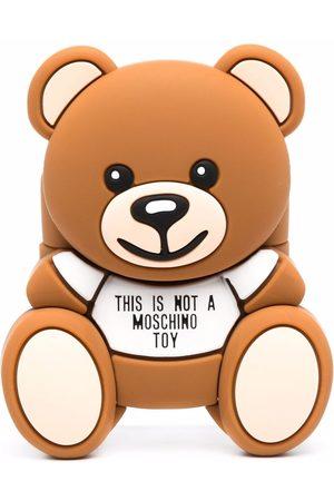 Moschino Teddy Bear motif AirPod case