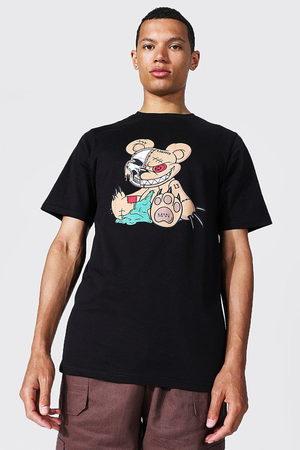 Boohoo Mens Tall Man Official Teddy T-shirt