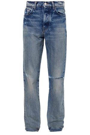 Amiri Distressed Straight-leg Jeans - Mens