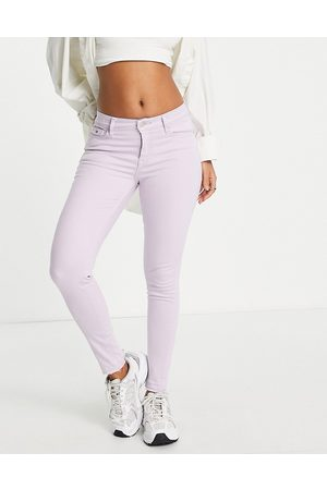 Tommy Hilfiger Nora mid-rise skinny jeans in lilac-Purple
