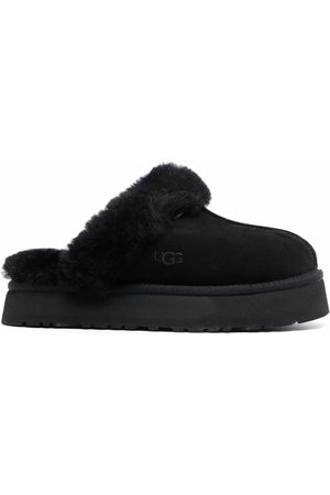 UGG Disquette suede slippers