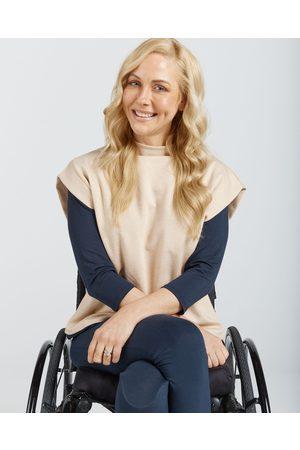 Christina Stephens Women Blouses - Women's Leaf Back Blouse - Tops Women's Leaf Back Blouse