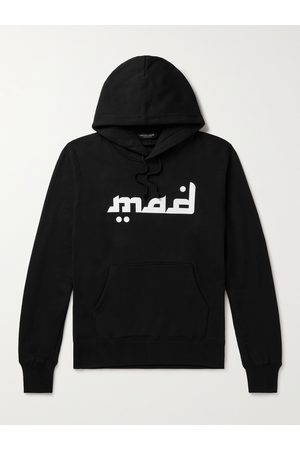 UNDERCOVER MADSTORE Printed Cotton-Jersey Hoodie