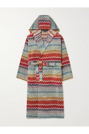 Missoni Men Hoodies - Rufus Cotton-Terry Jacquard Hooded Robe